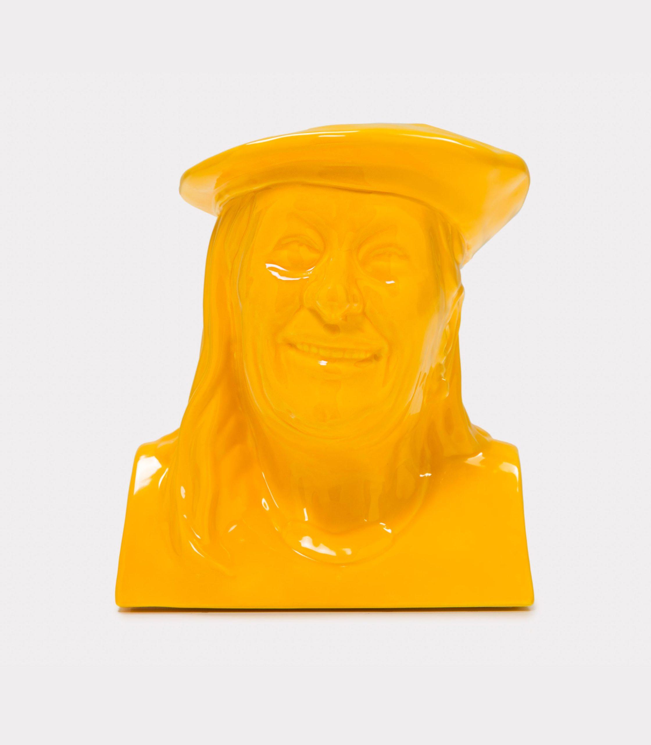 La Vilma giallo loopo milano design F
