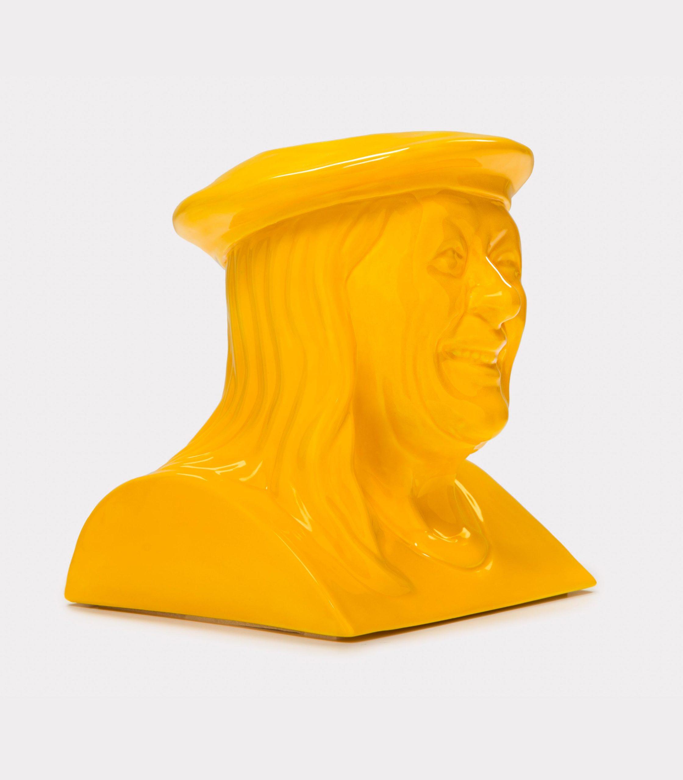 La Luisa giallo loopo milano design FD