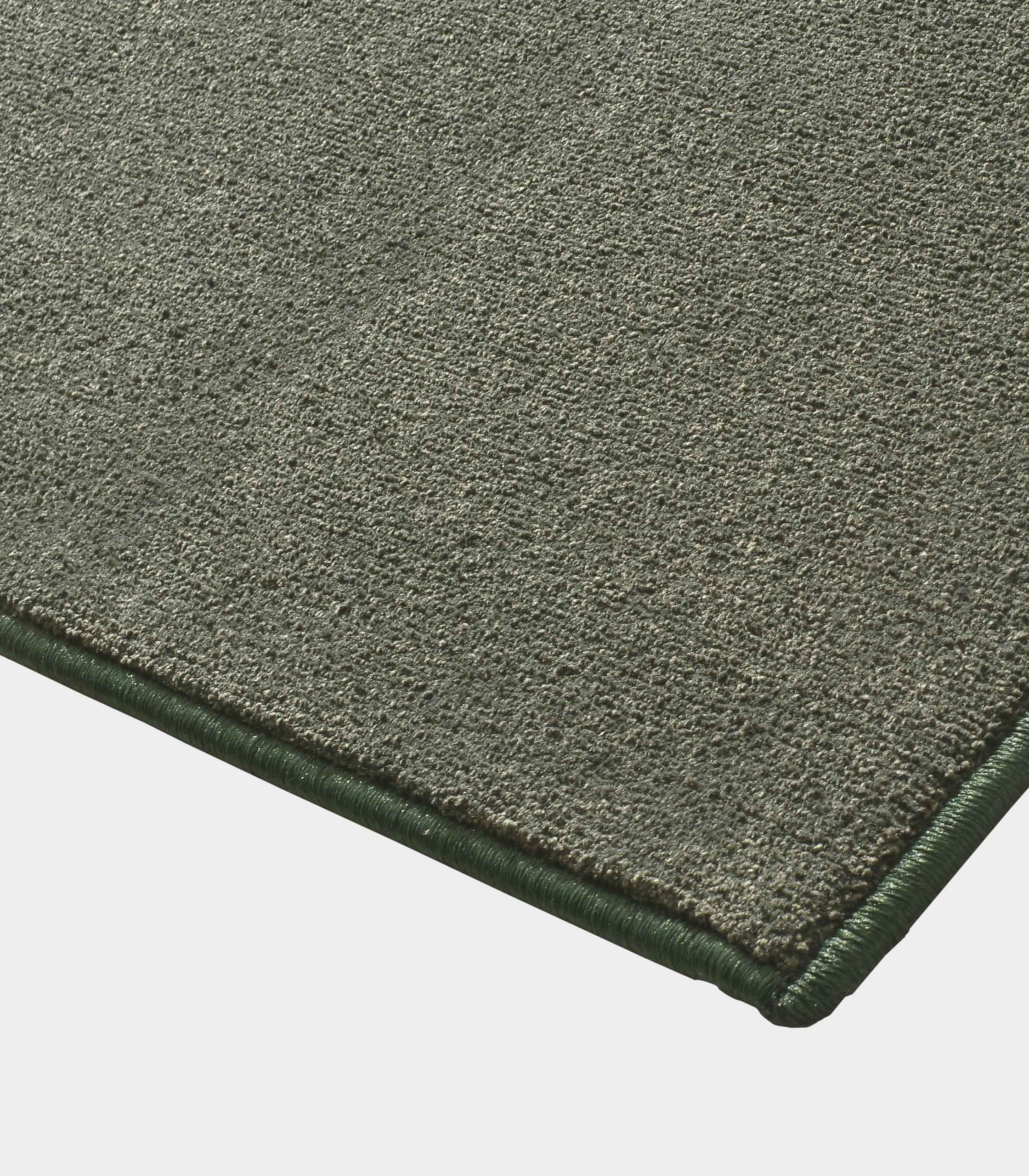 """Solid"" middle olive green rug in monocolor fabric loopo milano design C"
