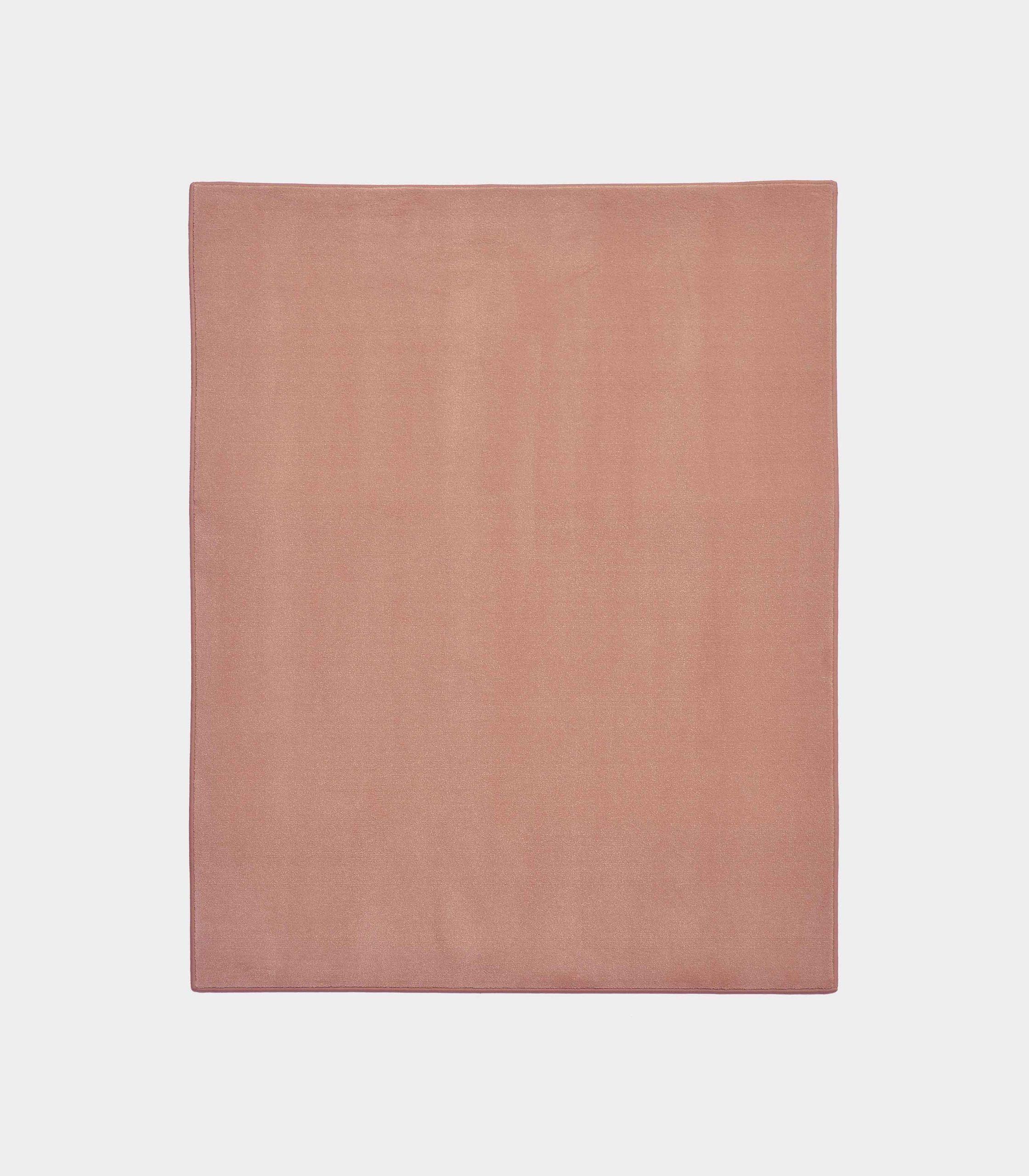 tappeto solid rosa antico militare loopo milano design F