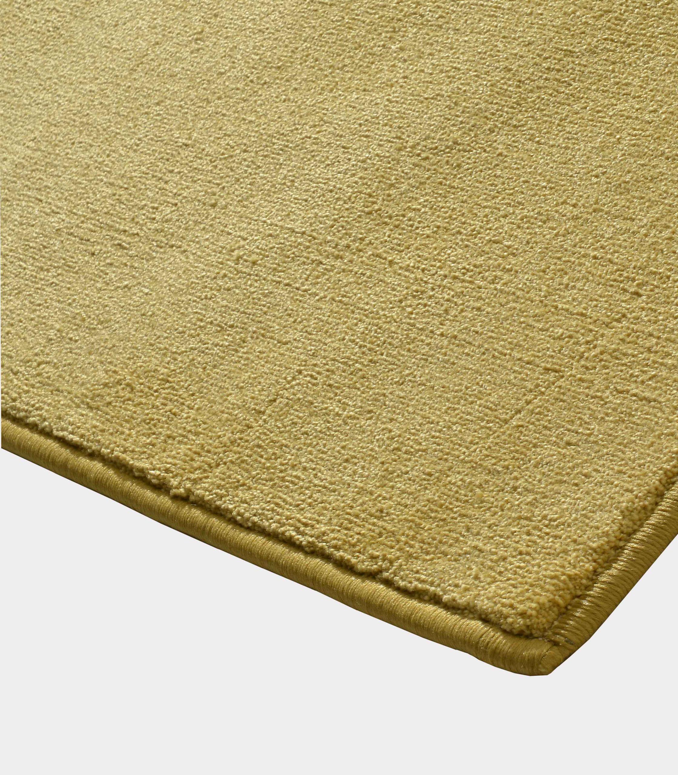 tappeto solid senape loopo milano design C