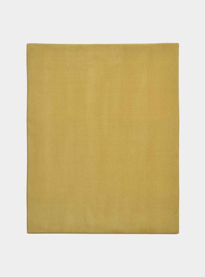 tappeto solid senape loopo milano design F