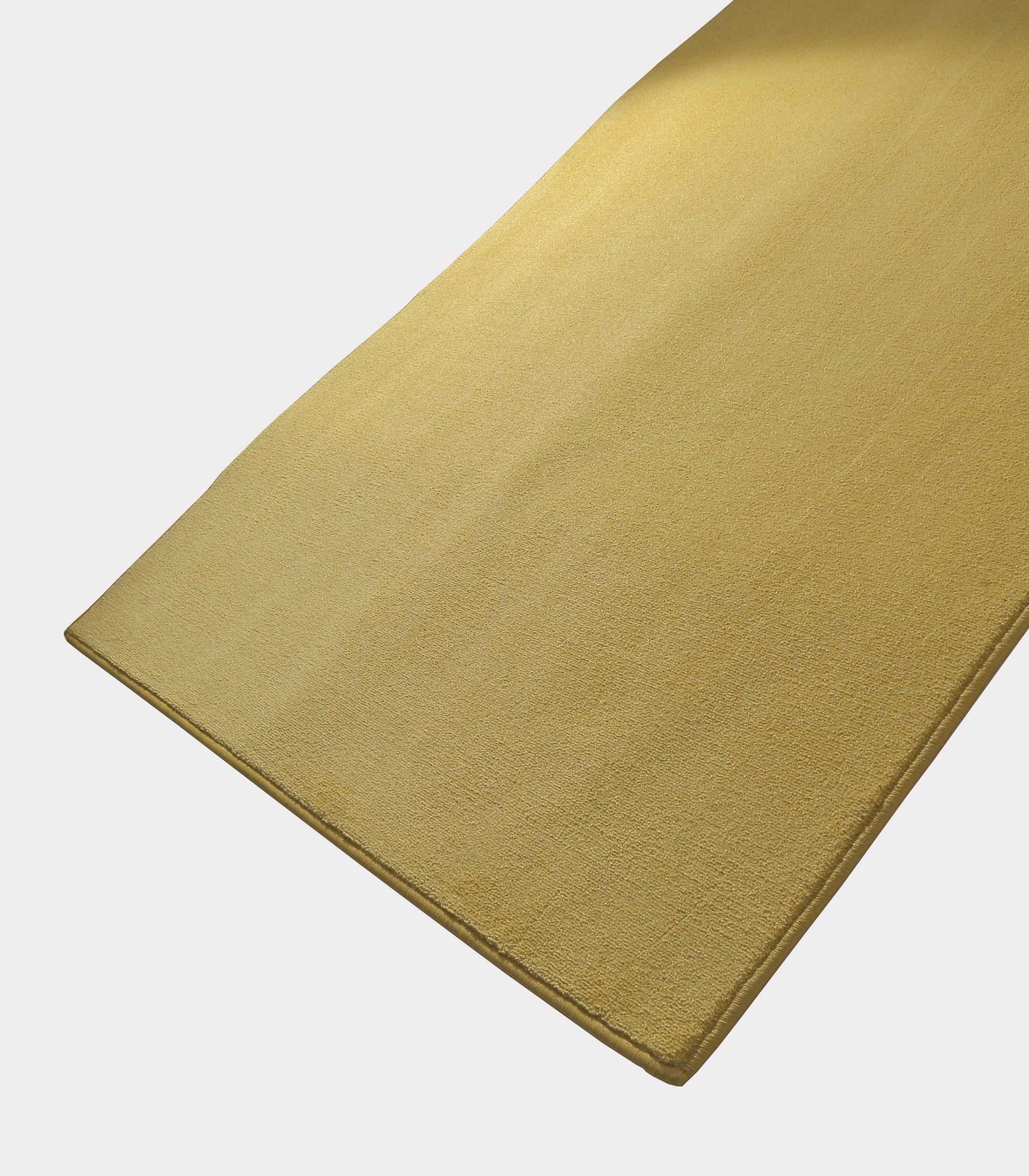 tappeto solid senape loopo milano design FD