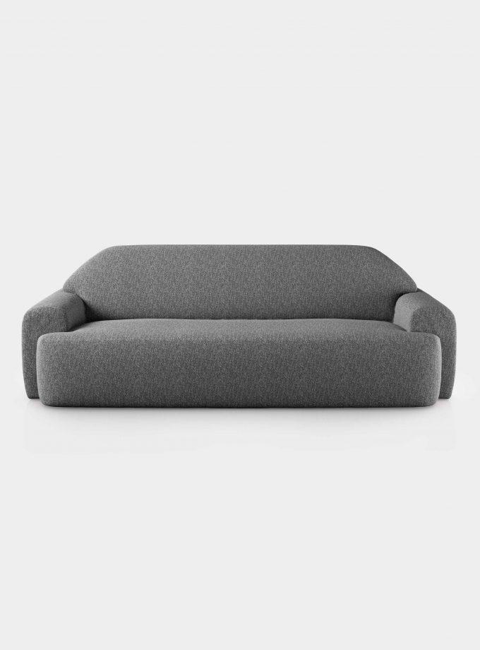 Divano boucle solid grigio loopo milan design F