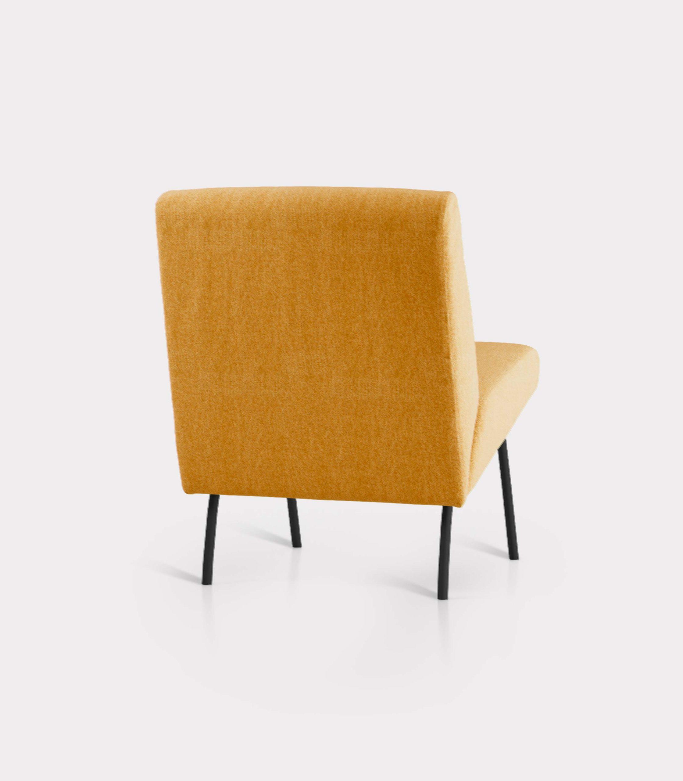 poltrona solid gialla milano design R