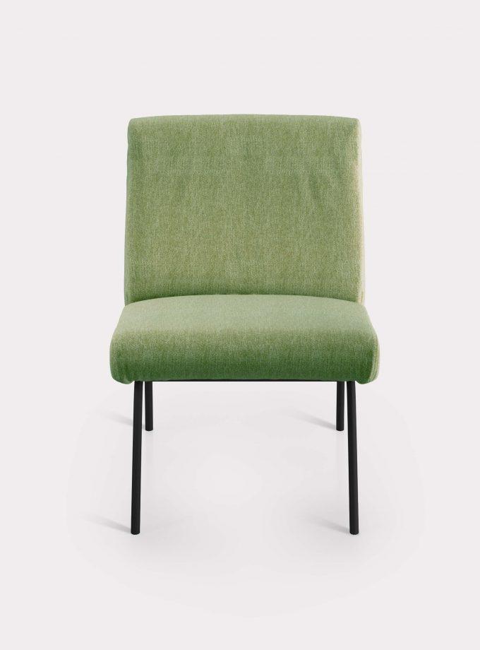 poltrona solid verde oliva milano design F