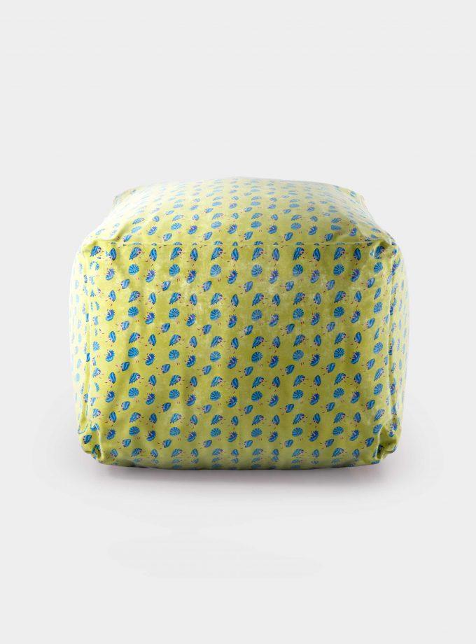 pouf pattern conchiglie e gambe loopo milan design F