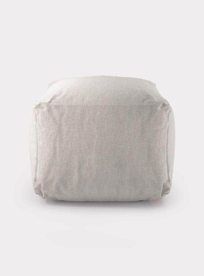pouf bianco loopo milan design F