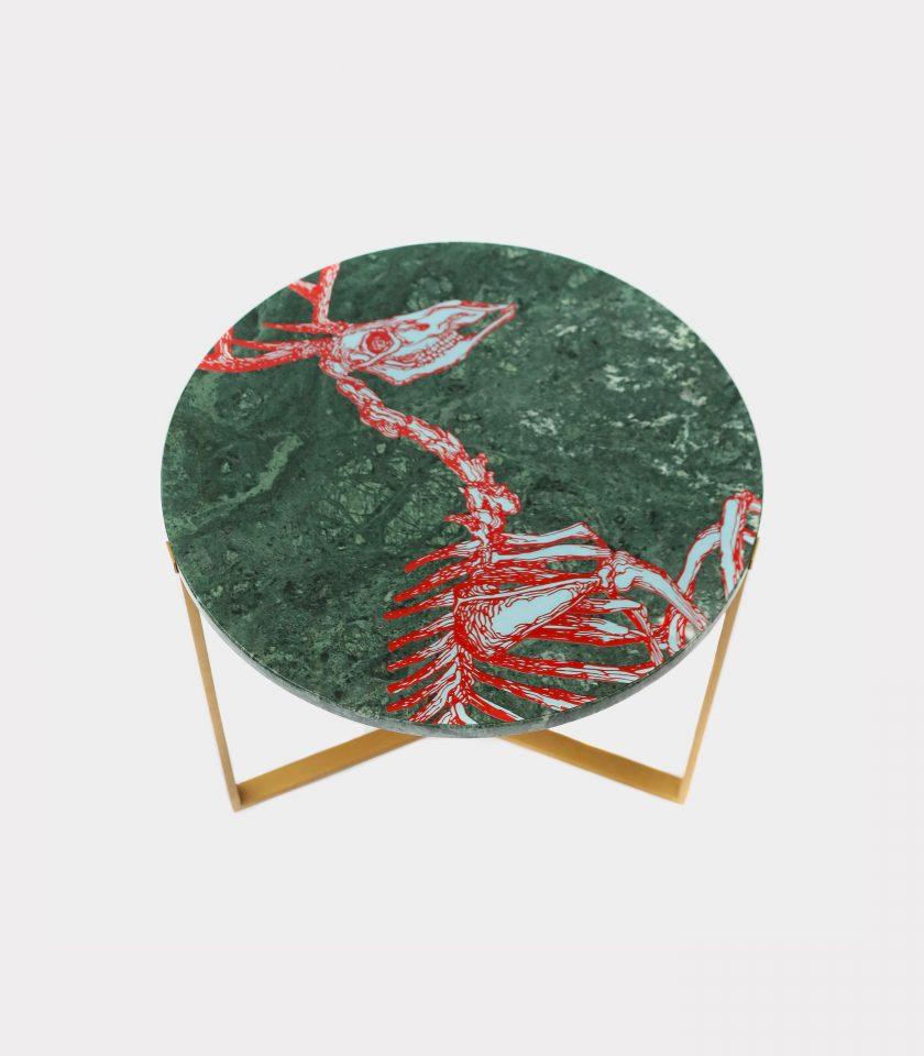 Tavolo marmo del guatemala cervo loopo milano F