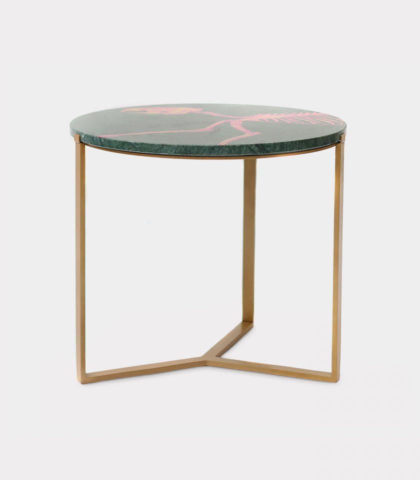 Tavolo marmo del guatemala struzzo loopo milano F