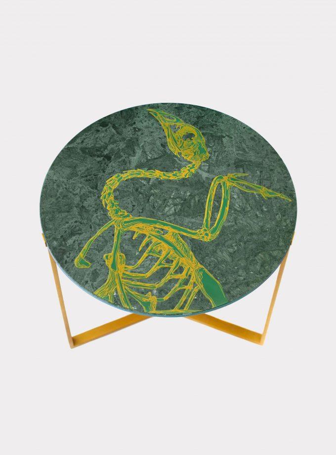 Tavolo marmo del guatemala puma loopo milano F