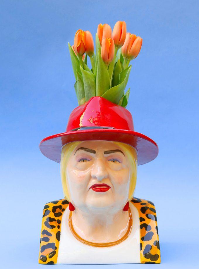 La luisa tulipani arancioni festa della donna