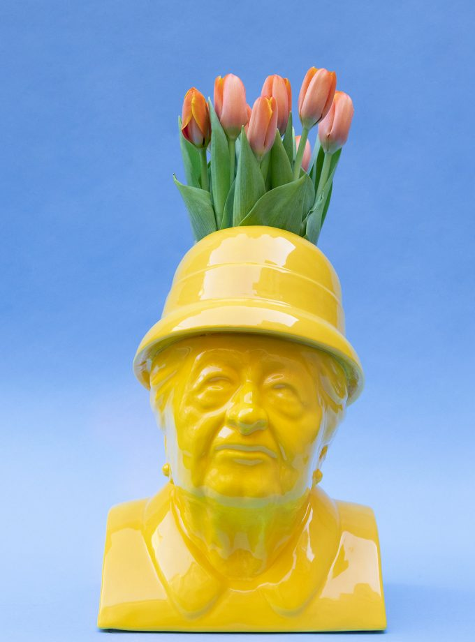Gisella guallo tulipani arancioni festa della donna